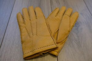 Dents Peccary Cashmere Line Gloves XL 10.5