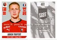"""RARE !! Sticker ROOKIE Adrien TRUFFERT """"FRENCH FOOT 2020-2021"""" Panini"""
