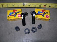 HONDA 600 COUPE SEDAN 2 (two) NGK SPARK PLUG WIRE ENDS N600 Z600 WIRING ENGINE