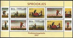 Netherlands. Child Welfare Stamps Children's Fairy Tales. 1997  Scott B704a. MNH