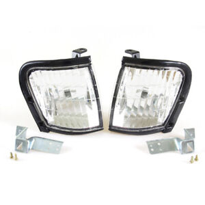 98-2001 ISUZU TF TFR HOLDER RODEO CLEAR CORNER LIGHTS VAUXHALL BRAVA PAIR LH /RH