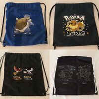 Pokemon Go String Bag Drawstring Tote Bag Backpack POP Organized Play Choice