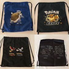 Pokemon Go String Bag Drawstring Tote Bag Backpack POP Organized Play Choice