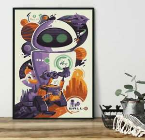 Wall E Poster Vintage Wall E Wall Art Print New sensation in waste location Gift