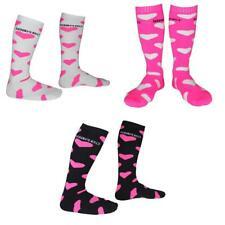 Pack of 3 Pairs Ladies Thermal Ski Snow Sports Winter Warm Long Boot Socks