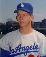 RARE Don Sutton 8x10 Probably 1966 George Brace Rookie LA Dodgers Astros Angels