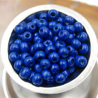 Wholesale 100&200pcs Round  Wood Spacer Loose Wooden Beads 4mm 6mm 8mm 10mm 12mm