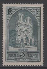 """FRANCE STAMP TIMBRE N° 259 """" CATHEDRALE REIMS 3F TYPE I """" NEUF xx TTB  N344"""