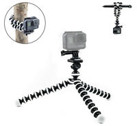 Octopus Flexible Tripod Mount Stand for GoPro Hero 8 7 6 5 4 3 Action Camera New