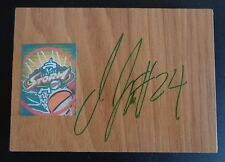 JEWELL LOYD Signed WNBA Floor Tile SEATTLE STORM Basketball FREE SHIP Notre Dame