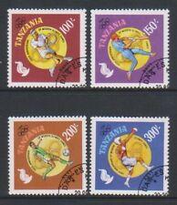 Tanzania - 1996, Olympic Games, Atlanta set - F/U - (d)