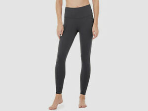 $285 Alo Yoga Women's Black Stretch High Waist Crop Leggings Pants US Size XS