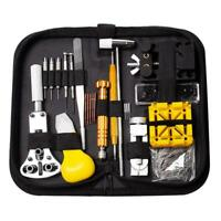 147pcs Watch Repair Tool Kit Watchmaker Back Case Opener Remover Screwdriver Set