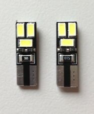 4 x LED T10 6 SMD  Kaltweiß 12V 3W CANBUS Standlicht, Kennzeichen Türbeleuchtung