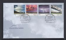 AUSTRALIA 2018 - CLOUDSCAPES Clouds Design set of 4 on FDC  - Nature , Weather