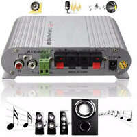20W 12V Home Hi-Fi Amplifier Booster Radio MP3/MP4/iPod Stereo for Car Subwoofer