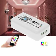 LED Wifi Controller RGB 5050 3528 Strip Light 12V 24V for iOS iPhone Android UP