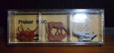 Preiser, Vintage, NiB,  Item # 9150  N scale 6 Horses