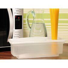 Spaghetti-Garer für die Mikrowelle Spaghettikocher Nudelkocher mit Portionierer