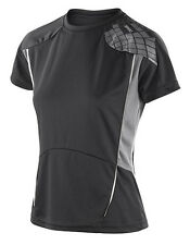 Fitness-Damen-Sport-Shirts & -Tops mit kurzen Ärmeln Strumpfhose in Größe XS