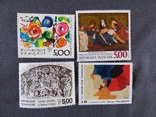 1988-SERIE TOURISTIQUE-4 TIMBRES NEUFS