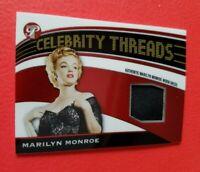 MARILYN MONROE WORN DRESS RELIC SWATCH THREADS CARD AMERICANA 05 TOPPS PRISTINE