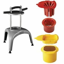 More details for matfer prep chef manual food chopper kit for multipurpose composite