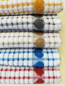 Kitchen Tea Towel 100%  Cotton Terry Hand Towel 50x70cm Quality Soft Absorbent T