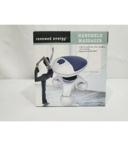 Renewed Energy Handheld Massager-for Back, Neck, Shoulders,Arms & Legs(Open Box)