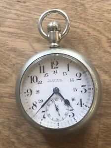 J.J. Busby Port Elgin Ontario Regina Watch co. 15 jewel Pocket Silver case nice.