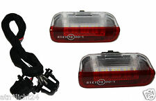 2x LED SMD Einstiegbeleuchtung Türausstieg beleuchtung inkl. Kabel VW Seat Skoda