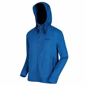 Regatta Langdon Mens Hooded Fleece Jacket Hoodie