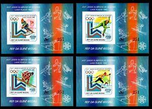 Olympic Guinea-Bissau 1979 6 blocks of stamps Mi#bl.160-65B MNH CV=80€