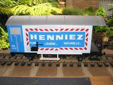 LGB #42280 G Scale Henniez Boxcar Freight Car Used