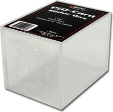 (100) BCW-SB150 BCW150 Count Trading Card Storage Slider Box Holder Storage