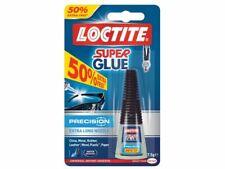 Loctite Super Glue 7.5g - Extra Long Precision Nozzle - Water Resistant Adhesive