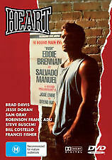 "Heart DVD Boxing Movie 1987 in the vain of "" ROCKY ""  Brad Davis - PAL AUST REG"