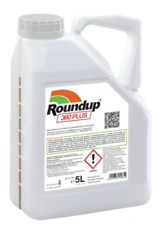 ROUNDUP 5L 360 CONCENTRATE PLUS  ROUNDAP WEEDKILLER PRO  EXTENDED CONTROL