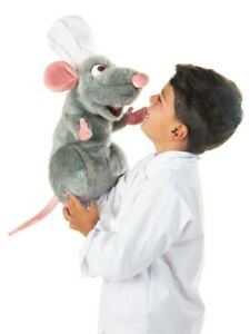 Disney Pixar REMY The RAT PUPPET 5020 ~ NEW for 2019! USA ~ Folkmanis Puppets
