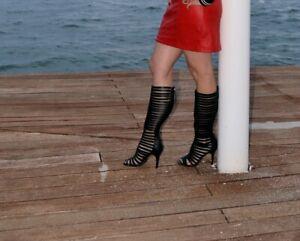 Sehr stark getragene Stiefel / für Sammler