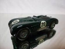 AUTO REPLICAS METAL KIT (built) JAGUAR C-TYPE No 20- GREEN 1:43 - GOOD CONDITION