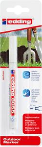 edding 8055 Outdoormarker Schreibfarbe Weiß