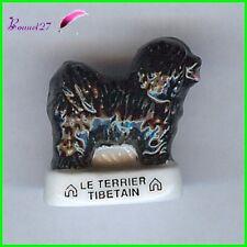 """Feve Les Races de Chien Dog Edition Atlas """" Le Terrier Tibétain """"  #A33"""