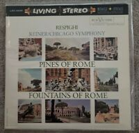 CLASSIC RECORDS LP LSC-2436**NEW Respighi Pines of Rome.REINER**SEALED**180-gram