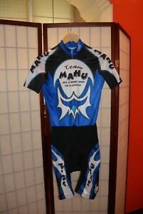 Mahu Team  Cuore cycling Skinsuit speedsuit switzerland L . ALY