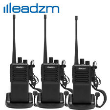 3x LEADZM C2 UHF 400-470MHz Walkie Talkie Two Way Radio Handhled Long Range GMRS