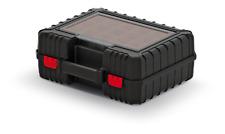 Werkzeugkiste Sortierbox mit Behältern Werzeugkoffer Toolbox  Kunststoff