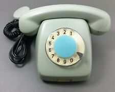 VINTAGE ROTARY DIAL TELEPHONE POLISH PHONE 70's ANTIQUE OLD COLD WAR COMMUNIST