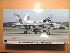 Hasegawa 1/72(INCLUDING 2 kits)  F/A-18A+HORNET `VFC-12 ADVERSARY'  (02202)