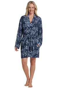 Schiesser Ladies Kimono Coat Robe Lightweight Viscose S M L XL XXL 3XL